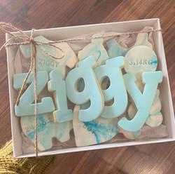 Fondant Baby Biscuit Cookie