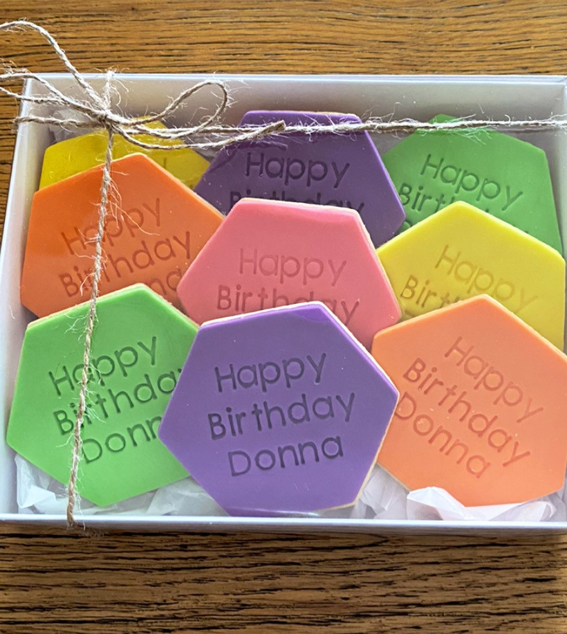 Fondant Colourful Biscuit Cookie