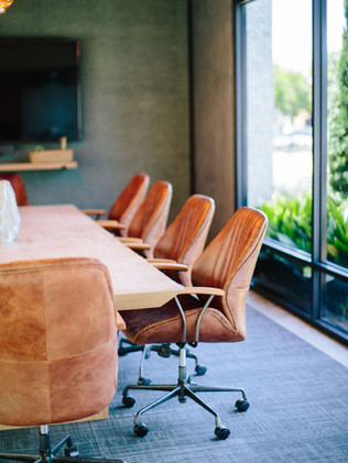 The True North conference room is available for booking online 24/7