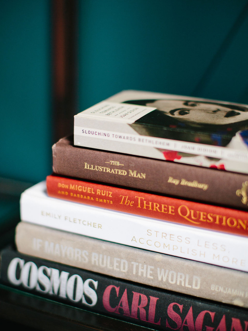The Truework Library was thoughfully curated to engage your mind and relax your soul