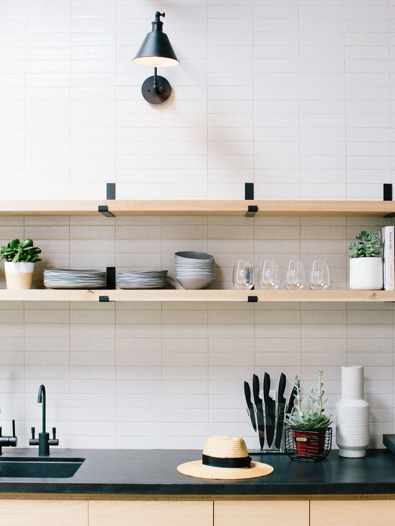 Make yourself at home in our well-stocked kitchen