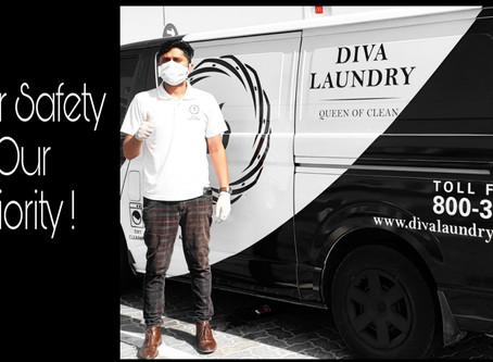 Safe Laundry Service during Coronavirus spread in Dubai