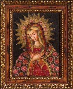 Gold Metal Leaf imbelished Spanish