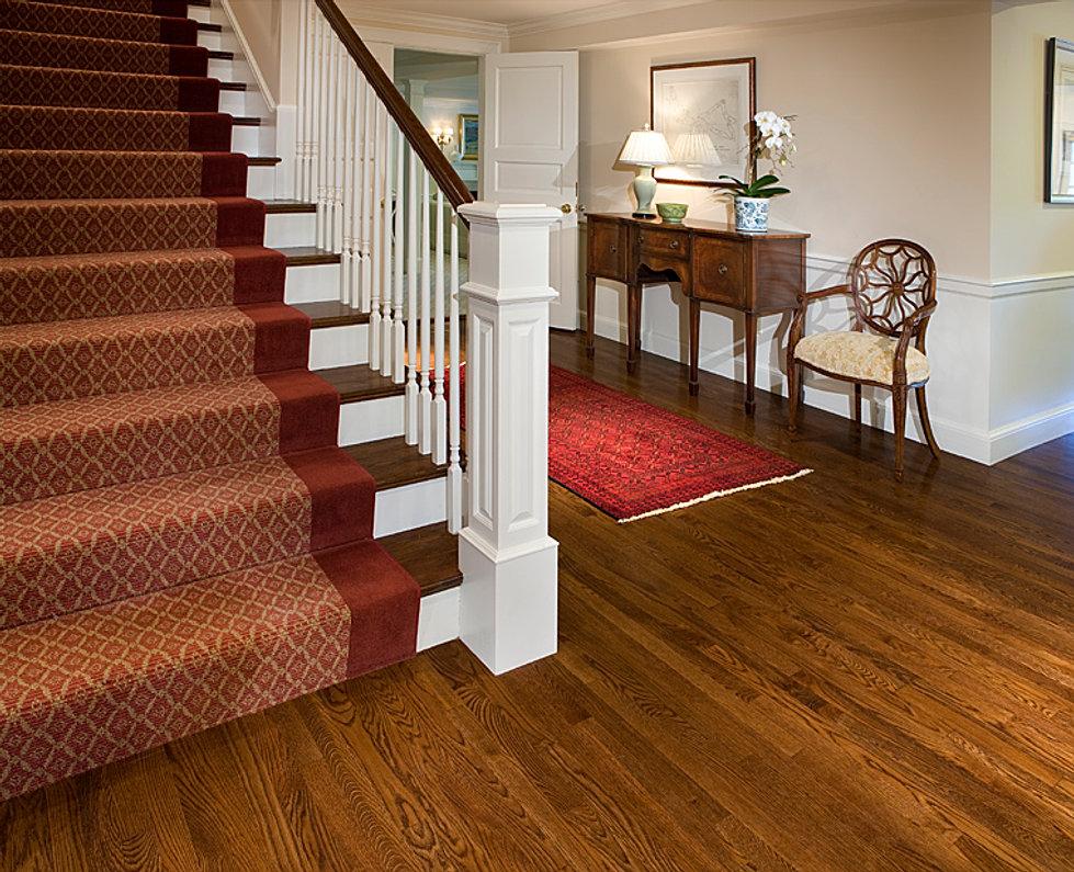 Private Residence in Boston - Galvin Flooring; Hardwood Floor Installation, Refinished Wood Flooring