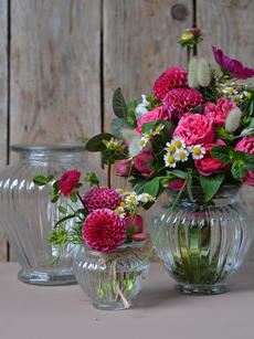 Vintagevase Tulpenform