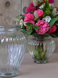 Vintagvase Tulpenform