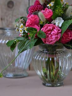 Vintagevasen Tulpenform
