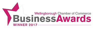 Welligborough Chamber of Commrce Business Awars 2017 Winner