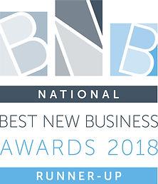 Best New Business Awards 2018 Runner-Up.