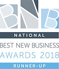 Best New Business Awards 2018 Runner-Up.