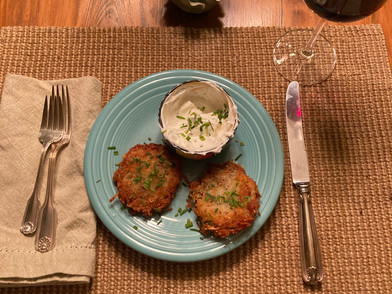 Darkness into Light....and Potato Latkes