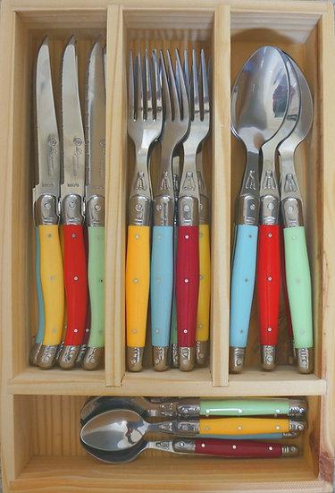 LT Linéaire Cutlery Set - Solaire - WHOLESALE ONLY