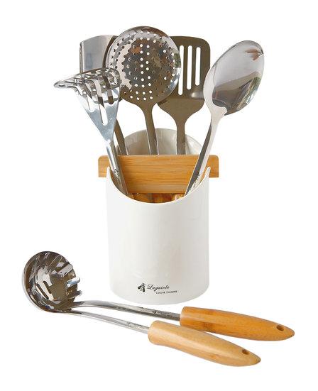 LT Mondial 8-piece kitchen utensil set