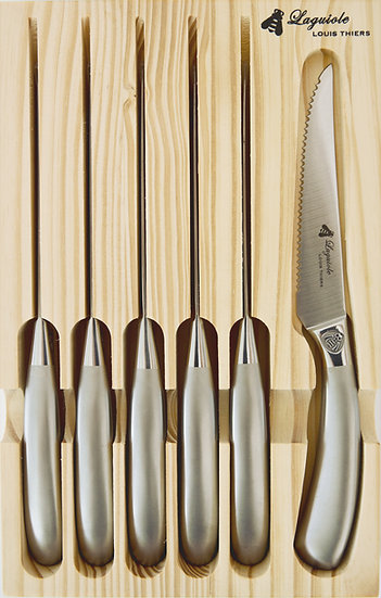 Louis Thiers Mondial 6-Piece Steak Knife Set