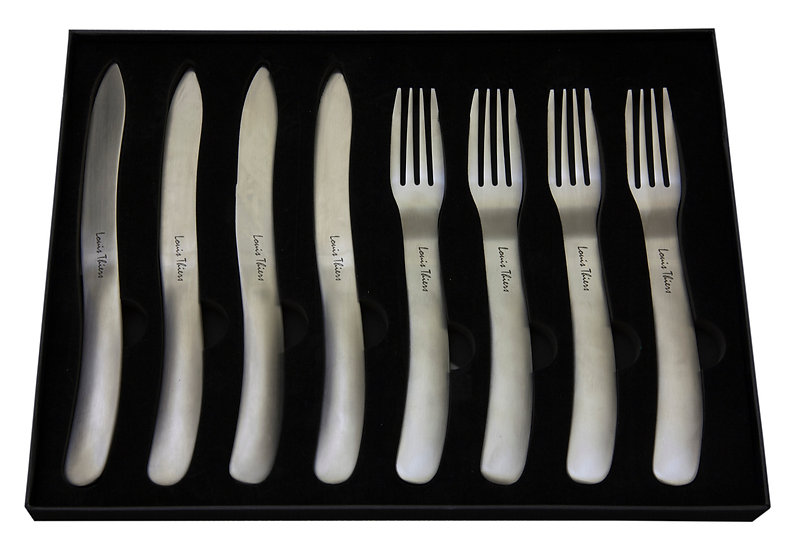 LT Organique Steak Knife Fork Set Matte - WHOLESALE ONLY