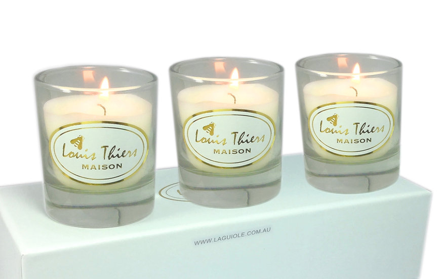 Maison LT 3 Pce Aromatic Candle-Mandarin WHOLESALE ONLY