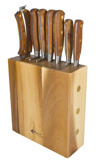 Louis Thiers Séquoia 8-Piece Knife Block Set - WHOLESALE ONLY