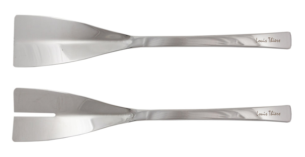Louis Thiers Belle 2-Piece Salad Serving Set