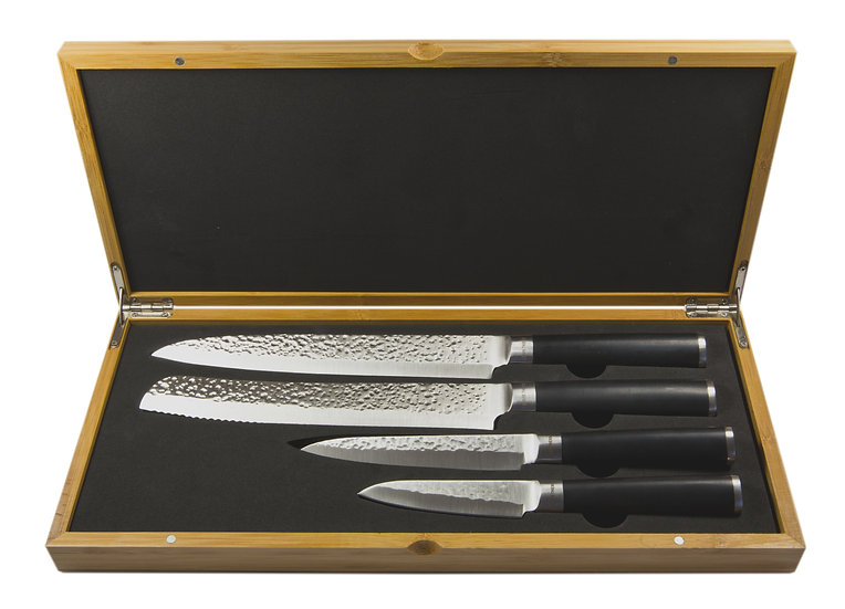 Louis Thiers Artisan 4-Piece Kitchen Knife Set - WHOLESALE ONLY