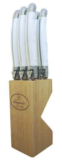 Louis Thiers Toujours Steak Knife Set - White