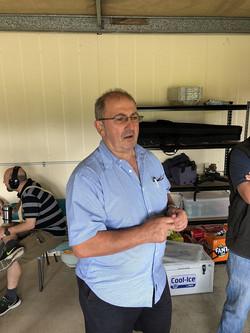 Vince Vaina overseeing Comp 2019
