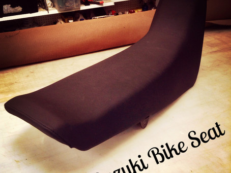 Suzuki Bike Seat