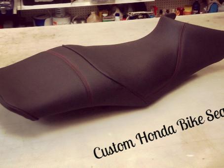 Custom Honda seat