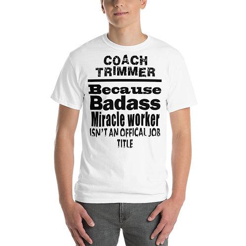Mens Badass Coach timmer - Short Sleeve T-Shirt