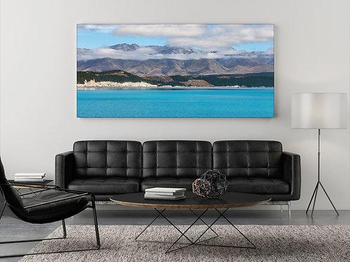 Lake Pukaki New Zealand ( Fotoposter ) Panorama