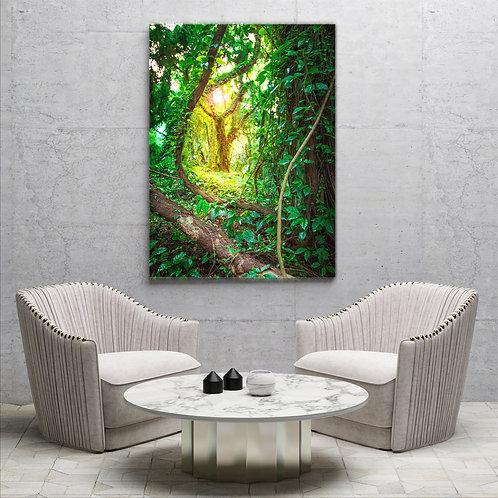Paradies im Jungle ( Foto Poster)
