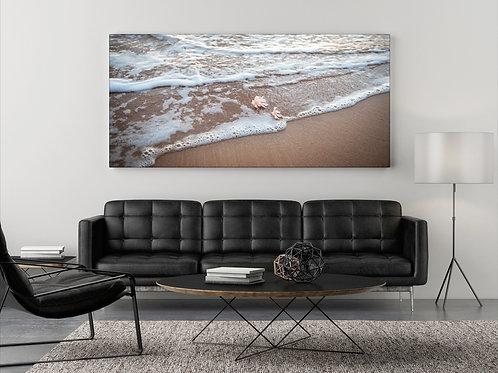 Seichte Wellen auf Hawaii Panorama ( Foto Poster )