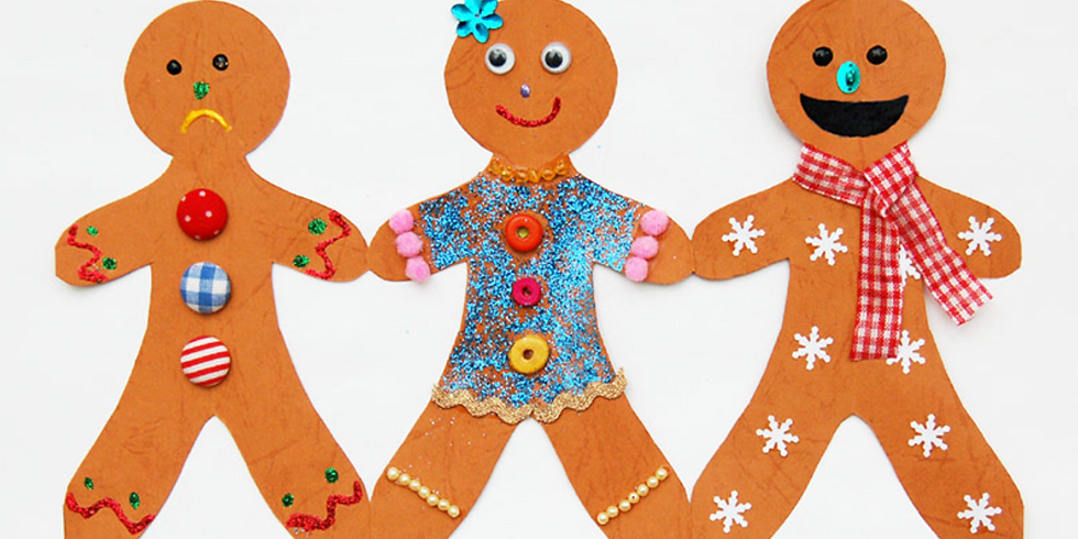 Paper Gingerbread Man Notes!