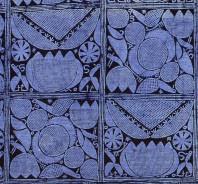 blue lotus batik