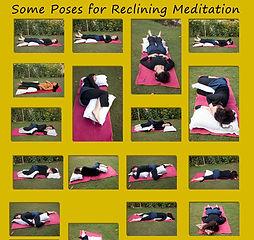 reclining meditation