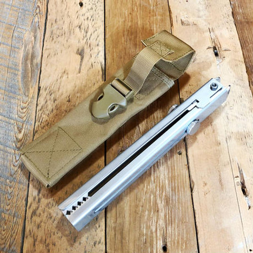 野良道具製作所 野良ばさみ用ケース(ロング・ノーマル兼用)1000Dナイロン コヨーテカラー ※写真の野良ばさみ・野良ブラスターは付属しません