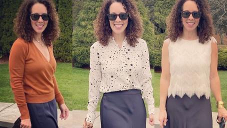 Holiday 2020 dress code: maxi skirt 3 ways