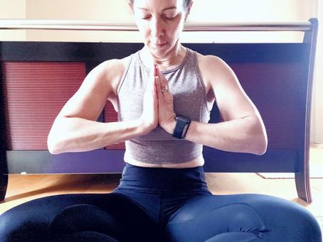 Yoga litmus: sitting in lotus
