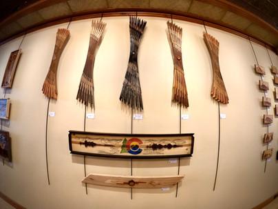 """Part of the exhibit """"Arborescent"""""""