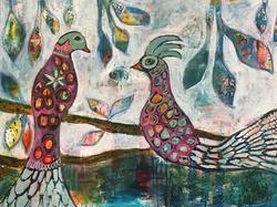 """""""love birds"""""""