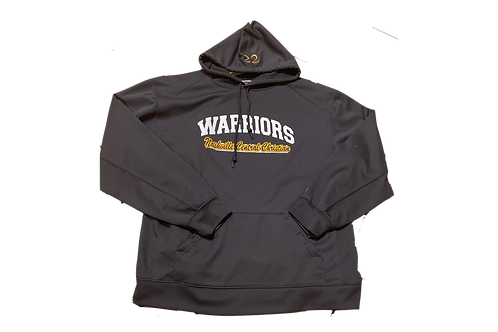 Warriors Performance Hoodie (w/embroidered #)