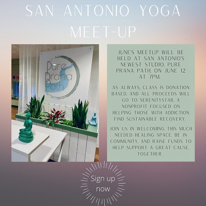 San Antonio Yoga Meet Up Donation Class