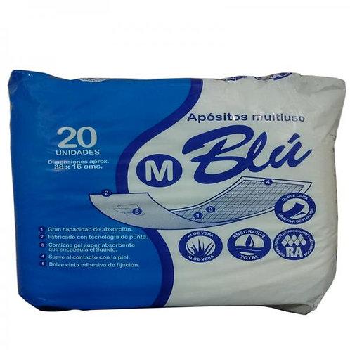 Apósitos Blu M 20 un (38x16cm)