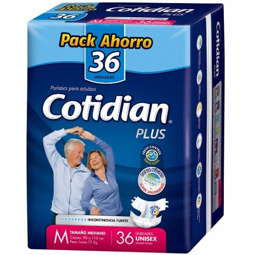 Cotidian Plus Talla M, 36 Un