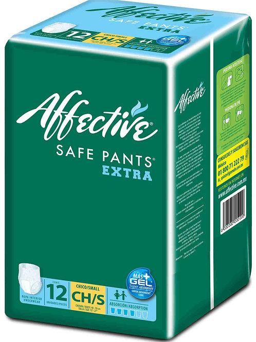 2 Paquetes Affective Pants S/CH, 12 un. c/u