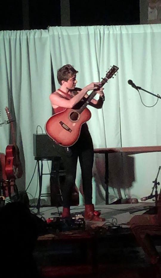 Christie Lenee Performing