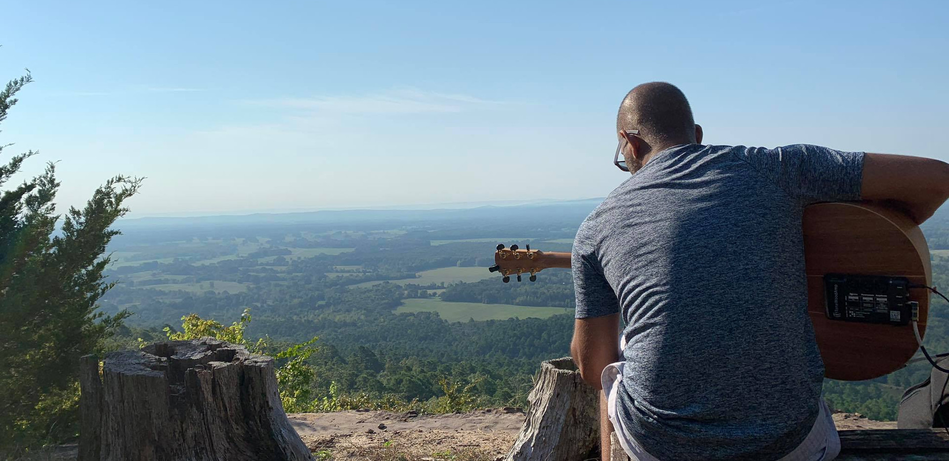 ToneWood Amp and Petit Jean Mountain...Nothing better!