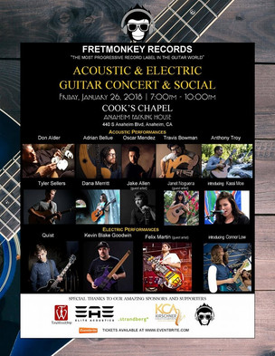 Fretmonkey NAMM Concert