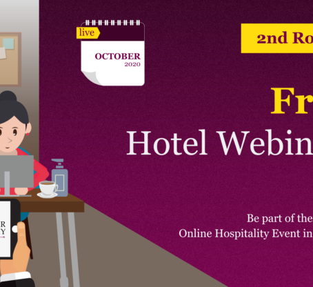 Free Hotel Webinars: October marks the Second Round of Hotelier Academy's Webinars for 2020