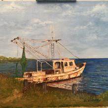 Galveston Shrimp Boat