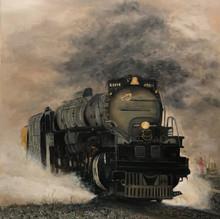 """""""Big Boy"""" Steam Engine"""